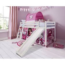 ... Kids Furniture, Hello Kitty Bunk Bed Bunk Beds Cabin Bed With Slide And  Tent In ...