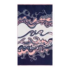 beach towel designs. Crashing Waves Beach Towel Designs T