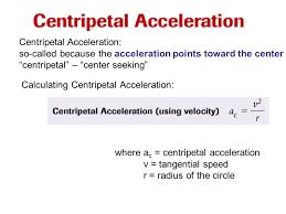 3 centripetal acceleration