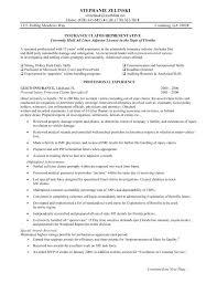 Insurance Claims Adjuster Resume Claims Adjuster Resume Writer