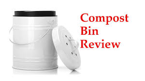 review of large kitchen compost bin for your countertop
