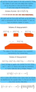 deriving the volume of a pyramid