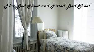 fitted sheet vs flat sheet difference between flat bed sheet and fitted bed sheet linensn