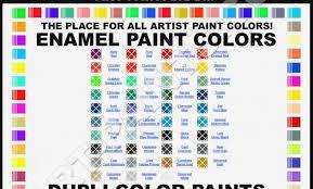 Model Master Enamel Paint Chart Pdf Detailed Humbrol Enamel Paint Chart Humbrol Paint Color Chart 63