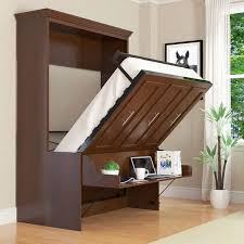 bed in office. The One Above Has A Self Adjusting Desk So That You Don\u0027t Have To Clear The  Every Time Want Go Sleep. It Sits Under Bed And Pops In Office