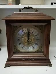 bulova chiming mantle clock university
