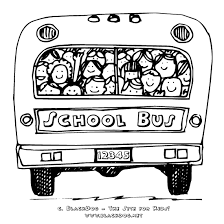 Small Picture day of school coloring pages