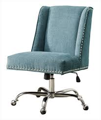 office chair upholstery fabric. Draper Height Adjustable Chrome And Plush Fabric Office Chair With Metal Casters Aqua 178404aqua01u Fs Lin Upholstery E