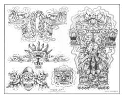 символы племени майя
