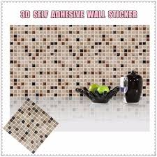Small Picture Aliexpresscom Buy Self Adhesive Mosaic Tile Wall Sticker DIY