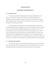 Sampling Design Example In Thesis Chapter Four Research Methodology Pages 1 26 Text