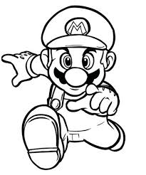 Super Mario Coloring Pages Roomhiinfo