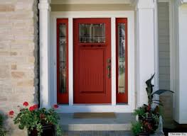 front door paint ideas 2Color For Front Door And This Exterior Wood Door Decorating Ideas