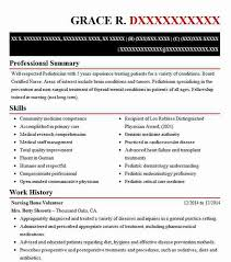 Skills To Write On A Resume Gorgeous Nursing Home Volunteer Resume Sample Volunteer Resumes LiveCareer