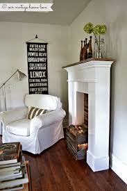mantle lighting ideas. faux mantel with crate and white string lights momu0027s place pinterest mantels crates mantle lighting ideas n