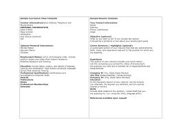 Resume Vs Cv Resume Vs Cv Cv Vs Resume In Canada Sample Cv Resume
