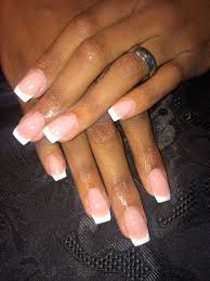 White Tip Nail Designs Tumblr Simple Pink And White Nails Ig Wtfimkels Tumblr