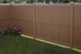 Galveston Certagrain Privacy Fence avinylfencecom