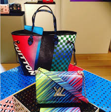louis vuitton cruise 2017 bags. louis vuitton grand prix neverfull and multicolor twist bags cruise 2017 s