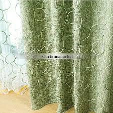 green color patchwork curtains uk blackout