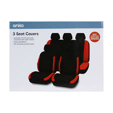 3 seat covers kmart