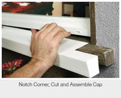 exterior window sill installation. window sill covers. 1 exterior installation h