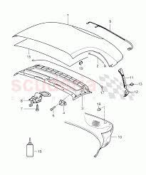 Convertible top covering roofliner