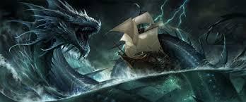 leviathan dragon wallpaper. Unique Wallpaper Leviathan  Luminos Storm Dragon Sandara Sea Vara Fantasy On Dragon Wallpaper