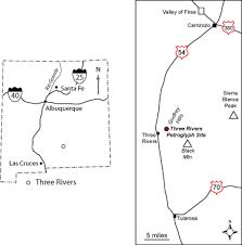 Tour Three Rivers Petroglyph Site