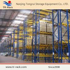 Powder Coating Rack China Electrastatic Powder Coating Steel Storage Rack From TrRack 86