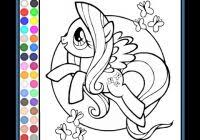 My Little Pony Characters Coloring Pages Wwwuniversoorganicocom