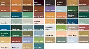Sadolin Classic Colour Chart Sadolin Classic Wood Protection Sadolin Fence Paint