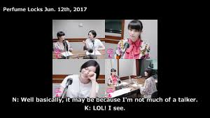 one on one talk by perfume