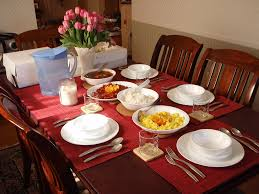 Table Setting For Breakfast Simple Valentines Day Brunch Setup Styleanthropy At Home