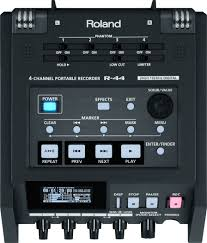Sound Design Field Recorder R 44 4 Channel Portable Recorder Roland Pro A V