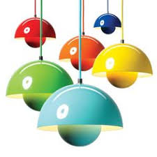 colorful pendant lighting. I Love These Pendant Lights From Verner Panton. Such Fun Colors. One Day Colorful Lighting P