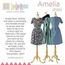S A L E Lularoe Amelia Dress See Size Chart