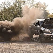 lifted duramax diesel blowing smoke. DieselTruckGallerycom GMC Duramax On Dyno Blowing Smoke Diesel Trucks Lifted And
