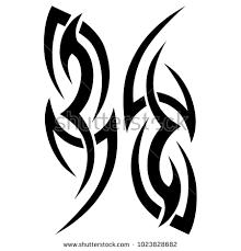 Pattern Ideas Interesting Tattoo Art Tribal Vector Designs Abstract Stock Vector Royalty Free