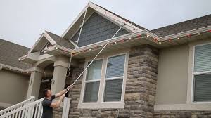 How To Fasten Christmas Lights To House The Best Way To Put Up Christmas Lights Diy Home