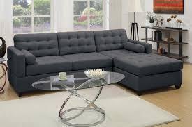 grey fabric sectional sofa