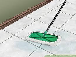 image titled clean tile floors with vinegar step 10