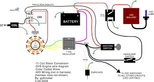 dc 5 wire cdi diagram totalruckus • view topic info or how to on full dc conversion image