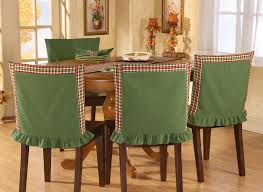 red green plaid chair back covers for fall harvest