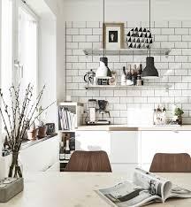 mid century modern kitchen white. Scandinavian Kitchen, Industrial Touch. Mid Century Modern Kitchen White M