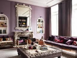 magenta beige dining room