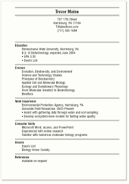 Resume Examples For College Students Best Of Free Resume Templates