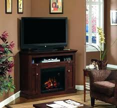 ventless fireplace tv stand classic flame corner fireplace stand in brown cherry vent free gas fireplace ventless fireplace tv stand