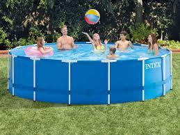 """Детский надувной <b>бассейн</b> 183х51 см """"<b>Тачки</b>"""" 880 л (<b>Intex</b> 28103 ..."""