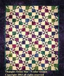 HUNTER STAR. Free quilt pattern with templates for 12